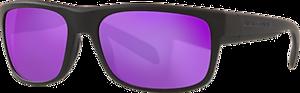 Matte Black - Violet Reflex