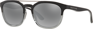 Matte Black/Crystal - Silver Reflex
