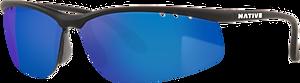 Matte Black - Blue Reflex